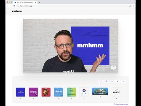 mmhmm - nie mylić z potakiwaniem - nowa aplikacja do prezentacji online