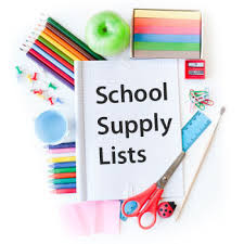 School Supply list 2019-20