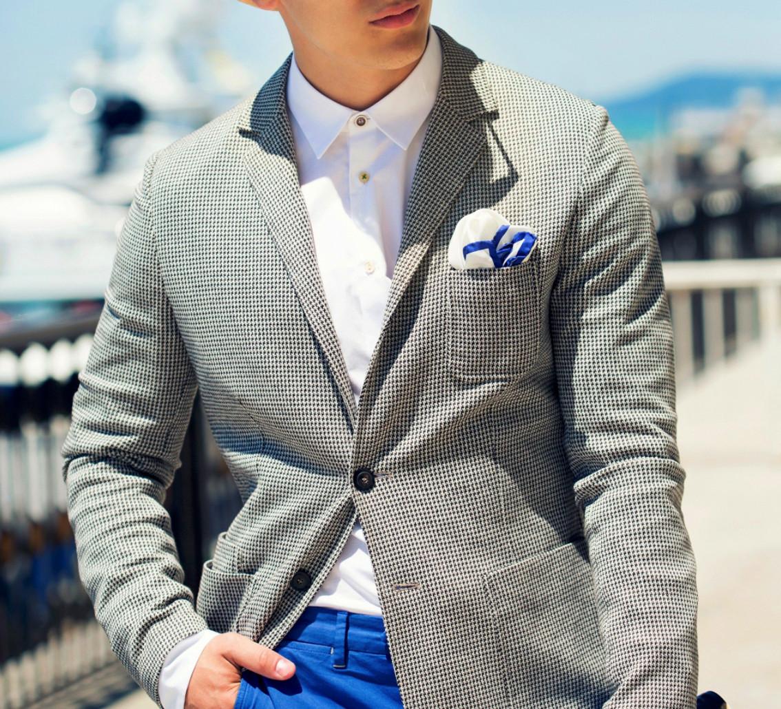 니트 재킷