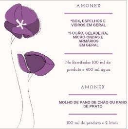 Diluição Amonex