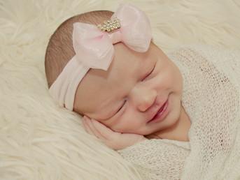Ensaio Newborn Lívia - 8 dias