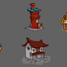 Stylized Architecture Concept