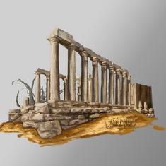 Ruins Architectural Concept