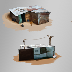 Shanty Town Concept