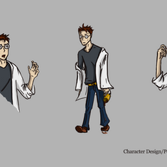Scientist Character Design