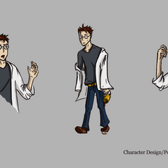 Scientist Character Design