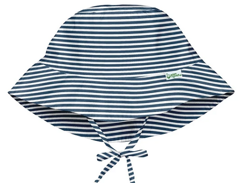 Bucket Sun Protection Hat | Navy Pinstripe