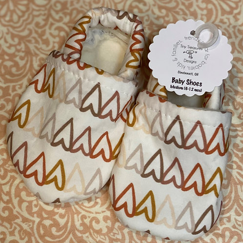 Baby Shoes | Vintage Hearts