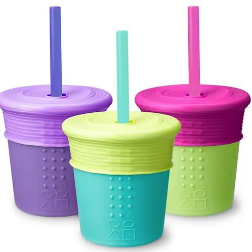 GoSili 8oz Universal Straw Cup