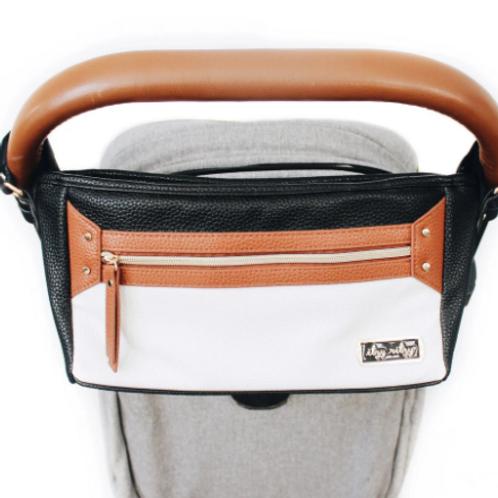 Coffee & Cream | Stroller Caddy Organizer