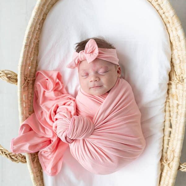 Swaddle Blanket Pink 1