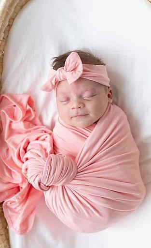 Swaddle Blanket Set - Pink
