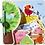 Thumbnail: Wooden Baby Book - Farm Friends
