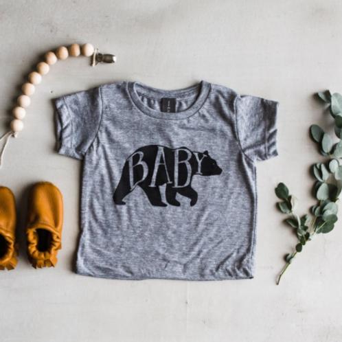 Baby Bear T-Shirt | Gray