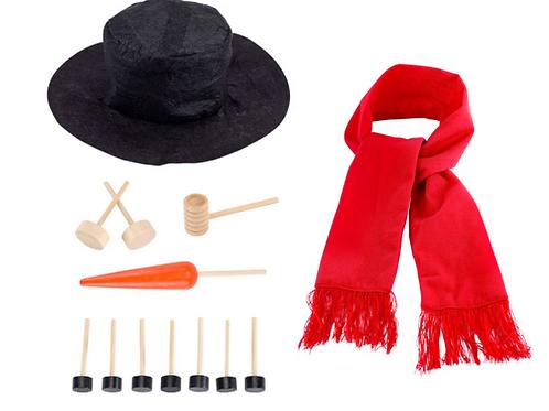 Build Your Own Snowman Kit