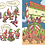 Thumbnail: The 12 Sleighs of Christmas By Sherri Dusky Rinker; Illustrated By Jake Parker