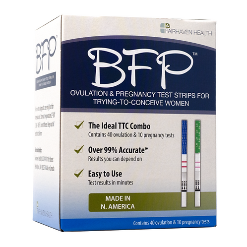 BFP Ovulation & Pregnancy Test Strips