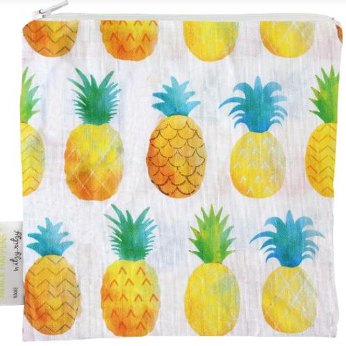 Snack Happens Wet Bag | Painterly Pineapple