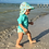 Thumbnail: Flap Sun Protection Hat | Aqua Sea Friends
