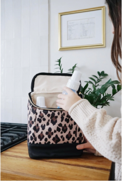 Leopard Bottle Bag