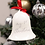 Thumbnail: Baby's First Christmas Ceramic Bell Ornament