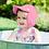 Thumbnail: Breathable Swim + Sun Flap Hat | Pink