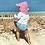 Thumbnail: Flap Sun Protection Hat   Light Pink