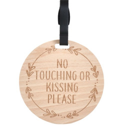 Wooden Stroller Tag. No Touching1