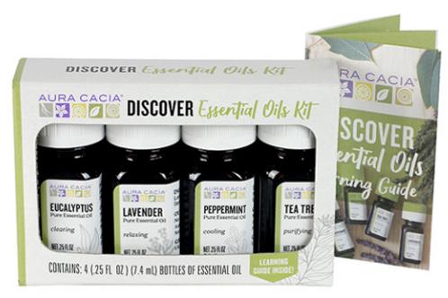 Aura Cacia Discover Essential Oils Kit