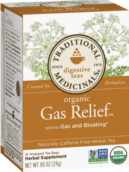 Organic Gas Relief Tea | Chamomile Mint