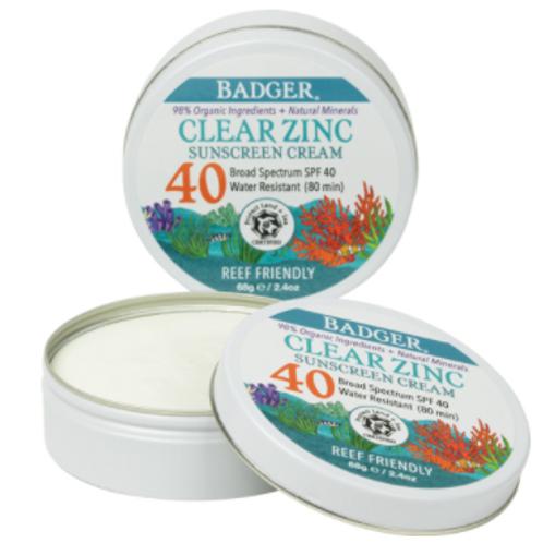 Clear Zinc Sunscreen Tin SPF 40