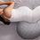 Thumbnail: Cuddle Pillow | Gray Basket Weave