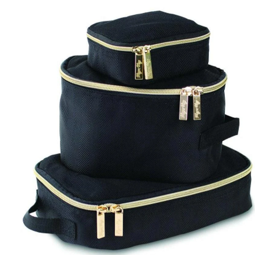 Packing Cubes - Black & Gold