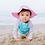 Thumbnail: Bucket Sun Protection Hat | Light Pink