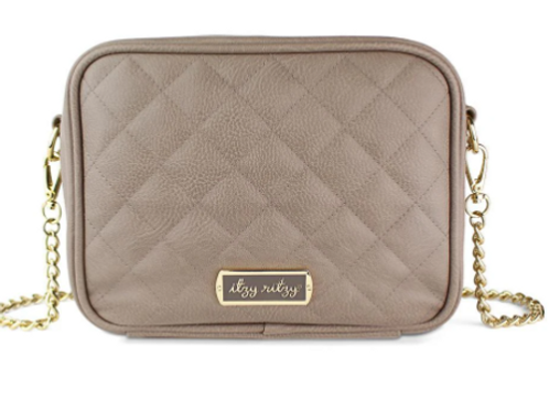 Itzy Ritzy Double Take Crossbody - Taupe