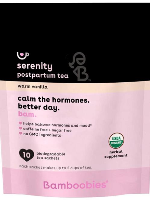 Serenity Postpartum Tea | Warm Vanilla