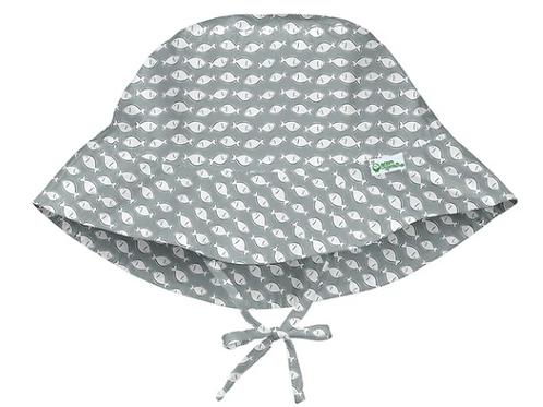 Bucket Sun Protection Hat | Gray Fish