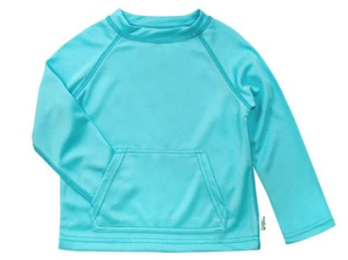 Breathable Sun Protection Swim Shirt | Aqua
