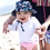 Thumbnail: Bucket Sun Protection Hat | Navy Flamingo