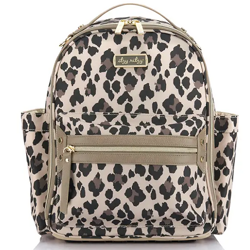 Itzy Mini Backpack  - Leopard