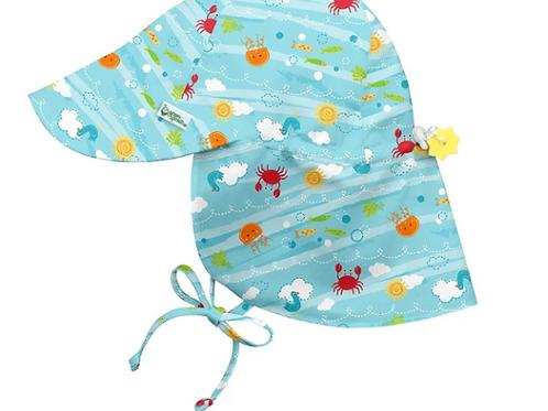 Flap Sun Protection Hat | Aqua Sea Friends