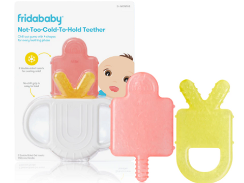 FridaBaby Not-Too-Cold-To-Hold Teether