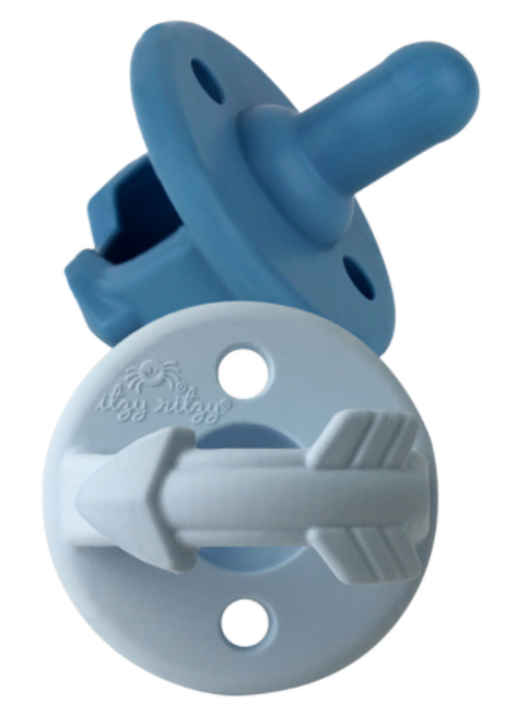 Sweetie Soother Pacifier | Blue Arrows