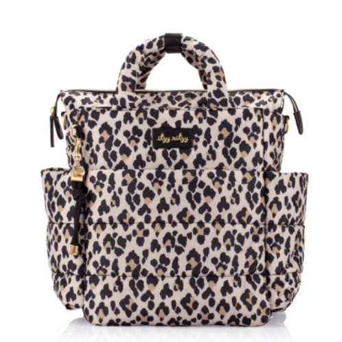Dream Convertible Diaper Bag | Leopard