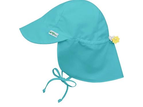 Flap Sun Protection Hat | Aqua