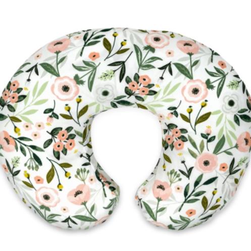 Boppy Original Feeding & Infant Support Pillow | Pink Garden
