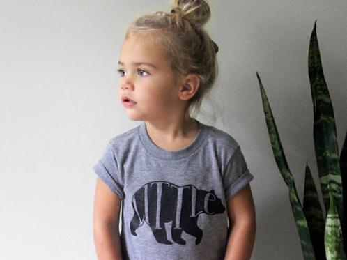 Little Bear T-Shirt | Gray