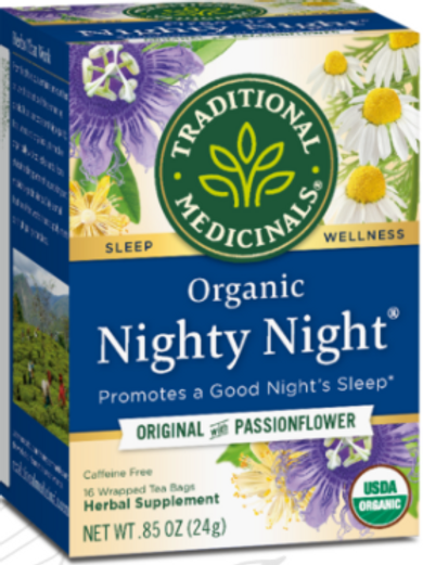 Organic Nighty Night Tea with Passionfruit