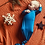 Thumbnail: Newborn Knotted Gown Set | Blue