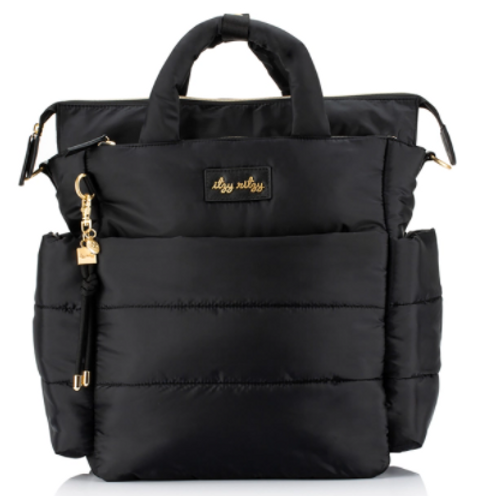 Dream Convertible Diaper Bag   Midnight Black